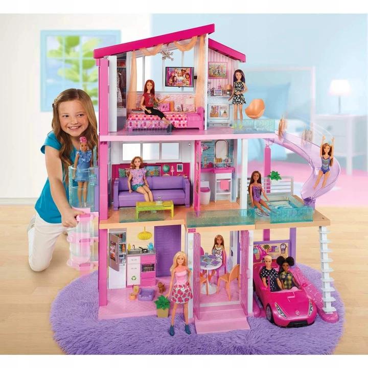 domek dla lalek Barbie 2019