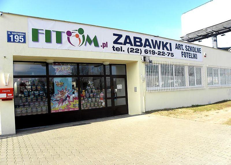 sklep internetowy z zabawkami, fitom radzymińska
