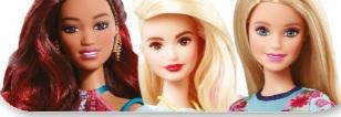 Mattel Barbie, Zabawki